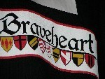 Flag at Braveheart Highland Pub in Hellertown, PA as seen in American Public House Review