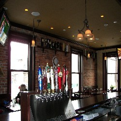 The taps at Braveheart Highland Pub in Hellertown, PA as seen in American Public House Review
