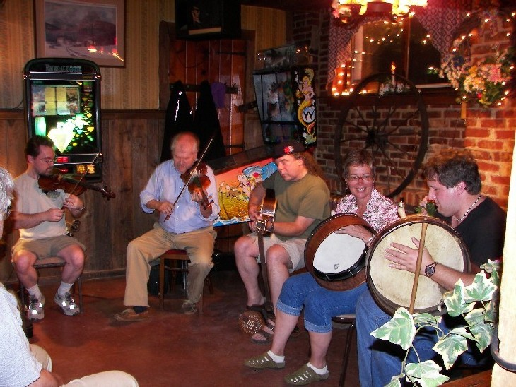 An Irish music session at Mitchell's in Lambertville, NJ as seen in American Public House Review