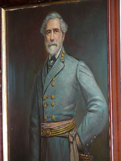 robert e lee. Robert E. Lee portrait at The