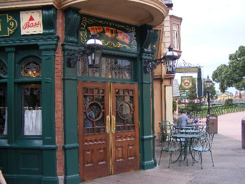 Rose and Crown doors as seen inAmerican Public House Review & ADULT LIFE IN A DISNEY WORLD