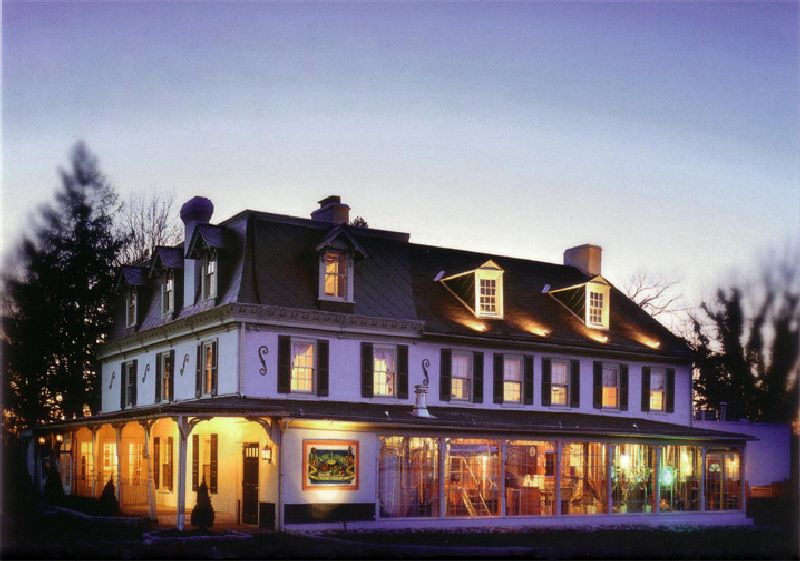 Night View Of The General Lafayette Inn And Brewey As Seen In American Public House Review
