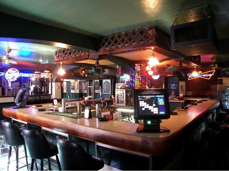The Bar At Eagle Hotel In Quakertown Pa As Seen American Public House