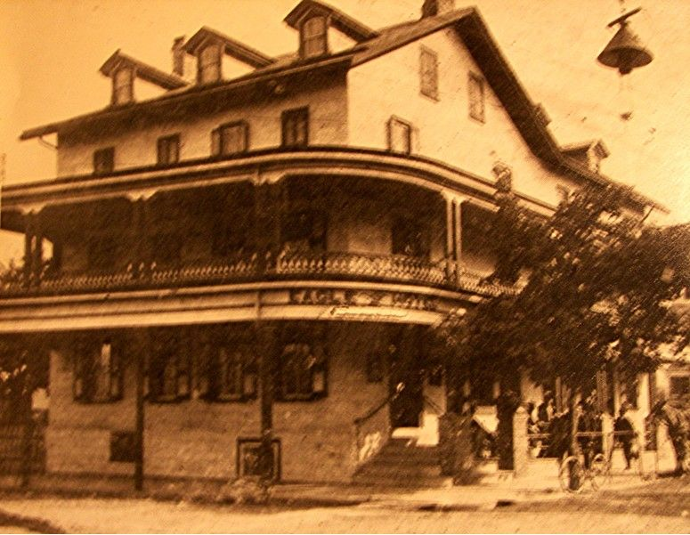 Old Photo Of The Eagle Hotel Inquakertown Pa As Seen In American Public House Review