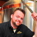 Brent Wojnowski, brewer at Wagner Valley Brewing in Lodi New York as seen in  American Public House Review