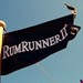 Flag on the Rum Runner II in Newport, RI as                       seen in American Public House Review