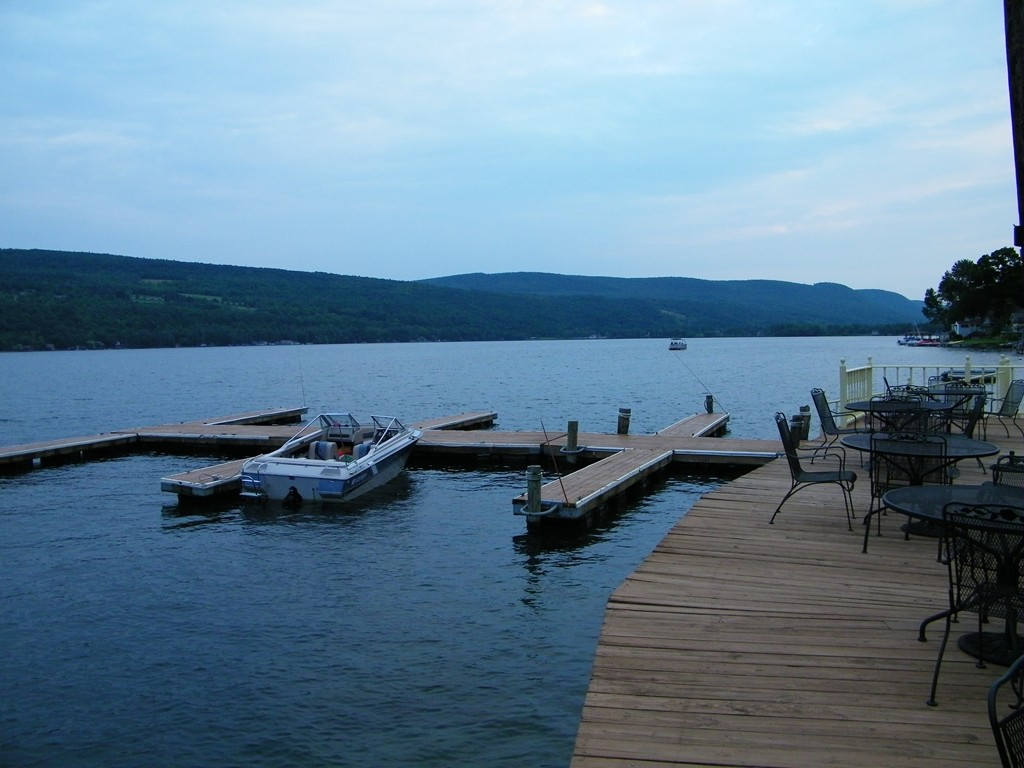 Keuka Lake In Hammondsport Ny