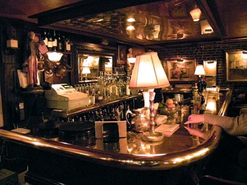 Bar At The Swan In Lambertville Nj As Seen American Public House Review