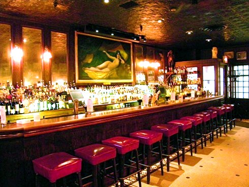 Bar At Keens Steakhouse In NYC As Seen In American Public House Review