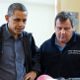 President Obama and Governor Christie visit a strom shelter post Hurricane Sandy as seen in American Public House Review