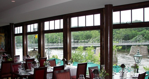 Black Bass Hotel in Lumberville, PA as seen in American Public House Review