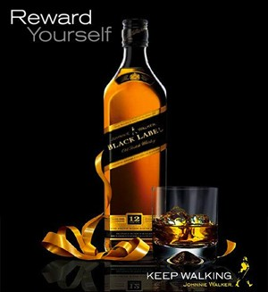 Johnnie Walker ad as seen                                           in American Public House                                           Review