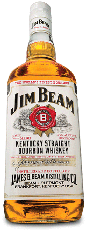 Jim Beam                                                           bottle as seen                                                           in American                                                           Public House                                                           Review