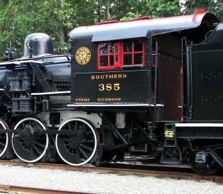 Southern 385 locomotive cab as seen in American Puiblic House Review